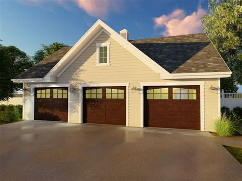 3 Car Garage Shop Plans
