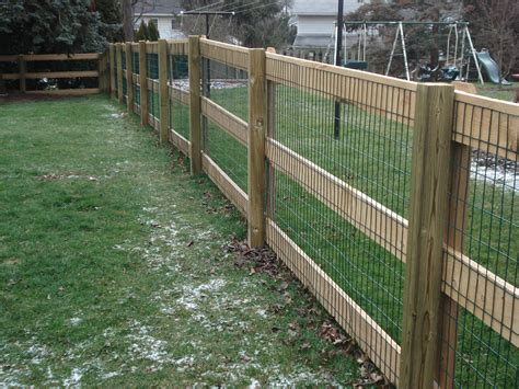 3 Rail Wood Fence Diy Post