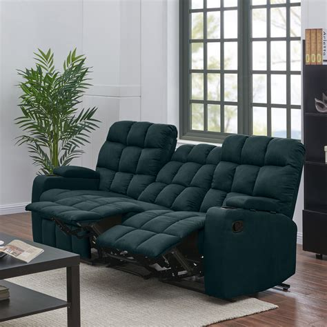 3 Seater Reclining Couch Walmart