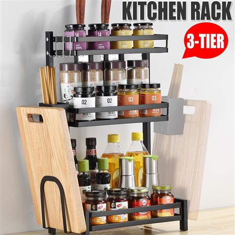 3 Tier Spice Rack Diy