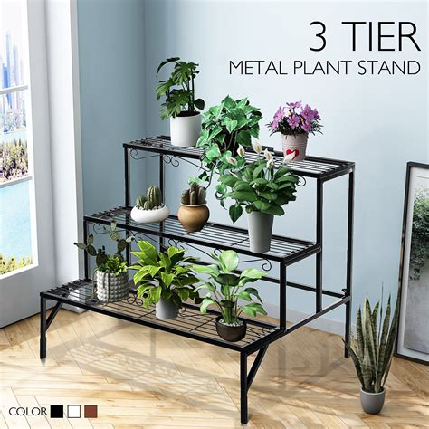 3 Tiered Plant Stands Outdoor
