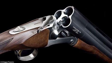 3 Barrel Shotgun Rifle And 357 Magnum Automatic Rifle
