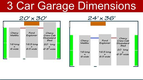 3 Car Garage Dimensions Make Your Own Beautiful  HD Wallpapers, Images Over 1000+ [ralydesign.ml]