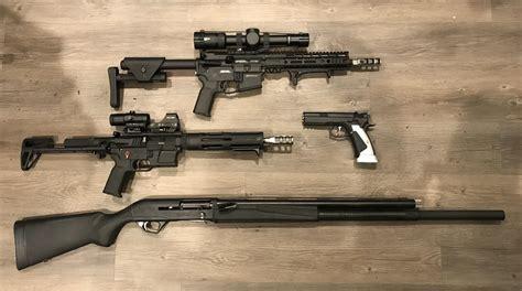 3 Gun Rifle Stock