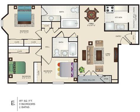 3-Bed-2-Bath-Home-Floor-Plans