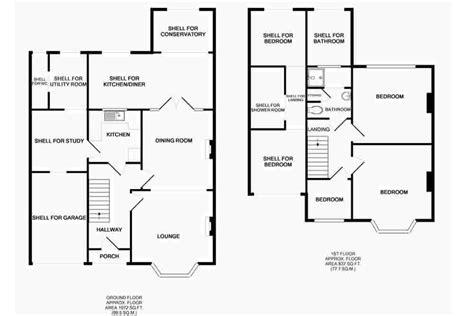 3-Bed-Semi-Detached-House-Extension-Plans