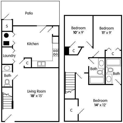3-Bed-Townhouse-Floor-Plan