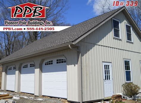 3-Car-Pole-Barn-Garage-Plans