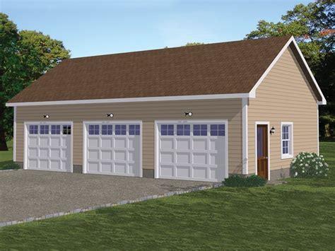 3-Stall-Garage-Plans