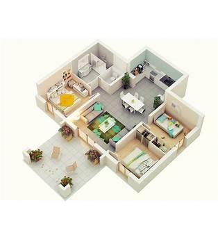 3 Bed Floor Plans