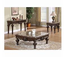 Best 3 piece living room table sets