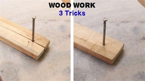 3 wood working tricks tips Image
