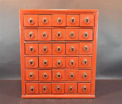 30 Drawer Apothecary Cabinet