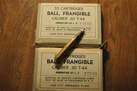 30 06 Frangible Ammo