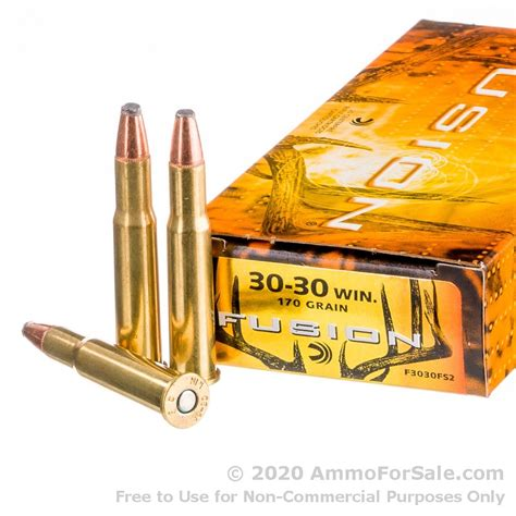 30 30 Fusion Ammo Review And 30 Ot 6 Ammo Size