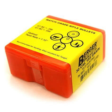 30 378 Loads With Berger Bullets