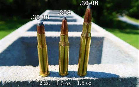 30 Cal Vs 308 Ammo