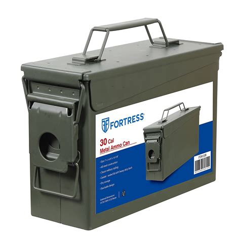 30 Caliber Ammo Can Size