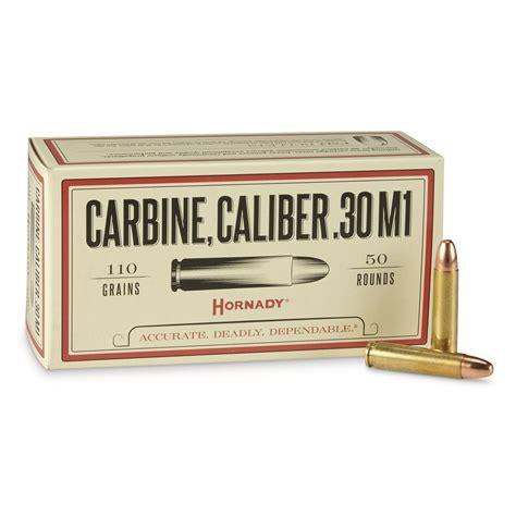 30 Carbine More Calibers Rifle Ammo
