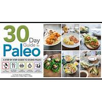 Free tutorial 30 day guide to the paleo diet