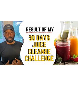 30 Day Juice Cleanse Results