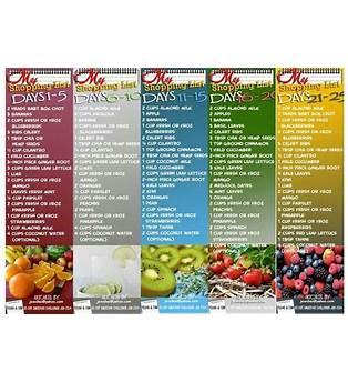 30 Day Juice Diet