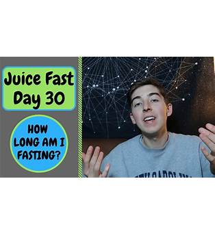 30 Day Juice Fast