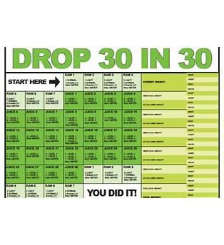 30 Day Juice Fasting Plan
