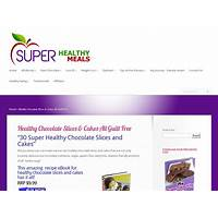 30 super healthy chocolate cakes & slices step by step