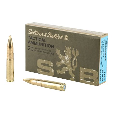300 Aac Blackout 200gr Subsonic Fmj Ammo