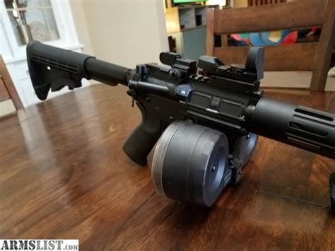 300 Aac Blackout With Drum Magazine