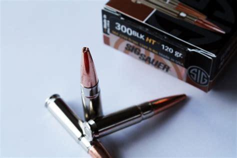 300 AAC Gel Test Sig 120 Gr HT Solid Copper Bullet - The