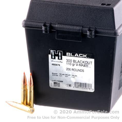 300 Blackout Ammo Field