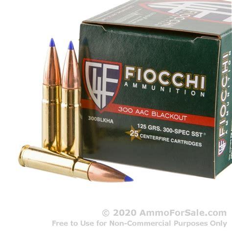 300 Blackout Ammo Speed