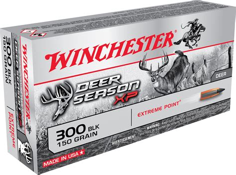 300 Blackout Deer Season Ammo And 3006 Ammo For Moose
