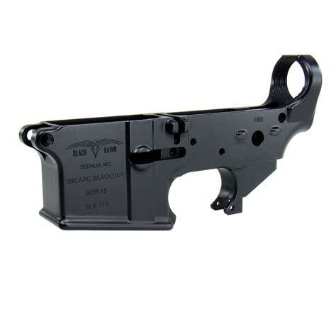 300 Blackout Lower Receiver Stripped
