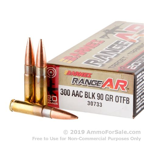 300 Blackout Range Ammo