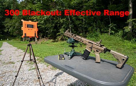 300 Blackout Rifle Effective Range