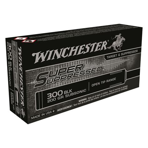 300 Blackout Suppressed Ammo