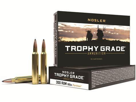 300 Remington Ultra Mag 180 Nosler Partition Ammo