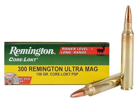 300 Remington Ultra Mag Power Level 2 Ammo