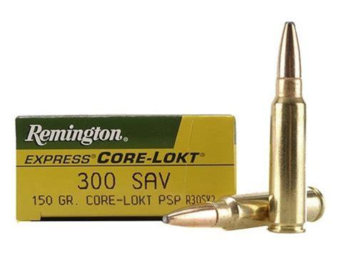 300 Savage Ammo Remington Rifle 150 Grains Ammoseek