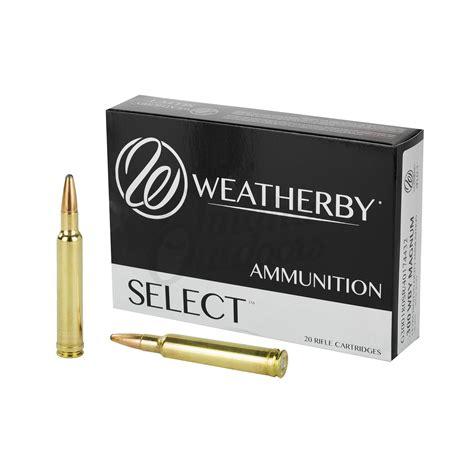 300 Weatherby Ammo Size