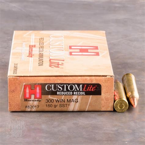 300 Win Mag Reduced Recoil Ammunition