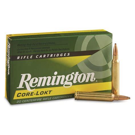 300 Win Mag Rem Factory 180 Corelok Ammo For Elk