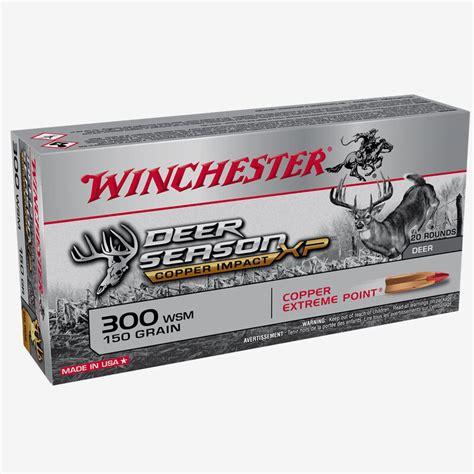 300 Wsm Ammo For Deer
