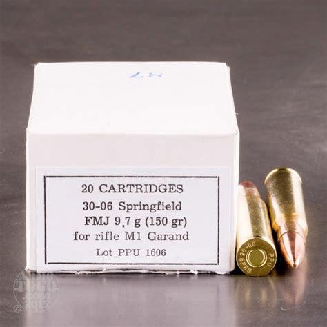 3006 Springfield 150gr Fmj Prvi Partizan Pp347 Velocity Test M1 Garand