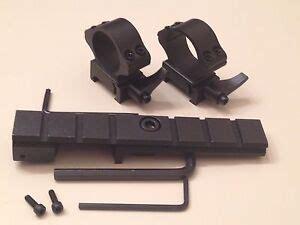 303 British Rifle See Thru Scope Mount E Bay