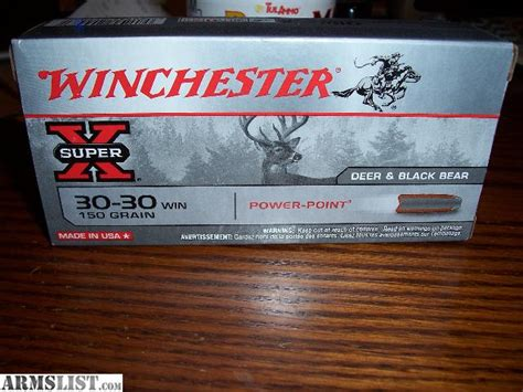 3030 Black Bear Ammo