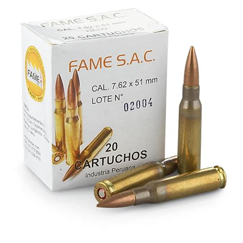 308 7 62x51mm 308 Winchester Ammo Rifle Lapua